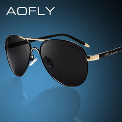 AOFLY Men Sunglasses Fashion Cool Polarized Sports Men Sunglasses