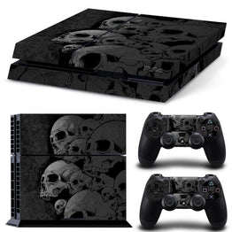 Cool Design Skull Skin Stickers For PlayStation 4 Console