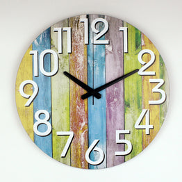 Modern Home Wall Watch Silent Large Decorative Wall Clock