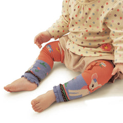 Infant Leg Warmers Cotton Knitted Kids Safety Crawling Elbow Cushion
