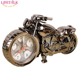 Friends Birthday Party Gift Needle Creative Motorcycle Shape Alarm Clock