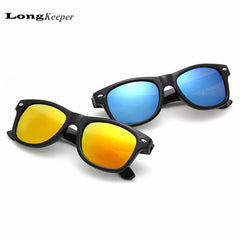 LongKeeper Kids Sunglasses Designer Sun Glasses for Children Boys Girls