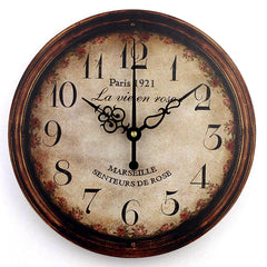 Vintage decorative wall clock home decor fashion