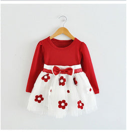 Cute Baby Girl One Piece Cotton Casual Wear Dress