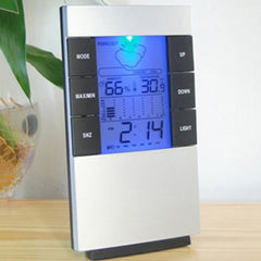 LED Backlight Digital Calendar Thermometer Alarm Clock