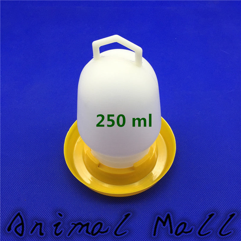 Quail Drinking 250 ML Cups Chicken Birds Pheasant Feeders Waterer Automatic drinking tool