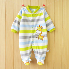 Autumn Winter Fleece Long Sleeve Baby Boy/Girl One Piece Jumpsuit