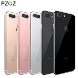 iphone 7 and 7 plus Case Silicone Cover transparent Color