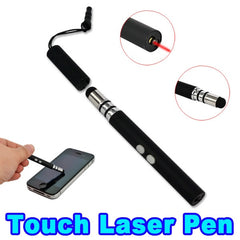 3 in 1 Laser Pointer Pen + Capacitive Stylus Touch Screen Pen