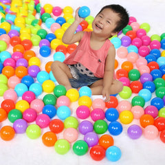 10PCS Soft Plastic Swim Pool Balls