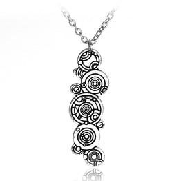 New Arrival Simple European Vintage Design Long Chain Pendant Necklace for Girls
