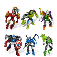Avengers Action Figure Toy Building Blocks