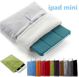 "Protective Cloth Sleeve Pouch for iPad Mini 8"" Tablet"