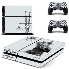 The Witcher 3 Wild Hunt Skin Sticker for Sony PS4