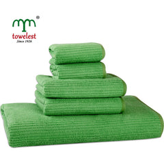 Microfiber Towel Set  5pc/set Solid Bath Towel Plain
