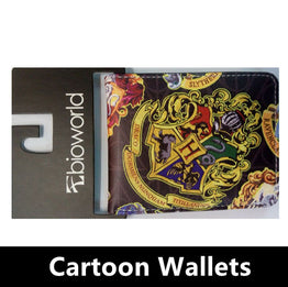 Dc Cartoon Zipper Wallet  Harry Potter Sherlock Zombies Breaking Superman Purse