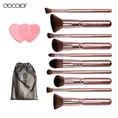 Makeup brushes 10pcs Professional brand make up brushes set