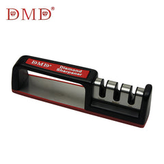 Diamond carbide ceramic kitchen knife DMD three-stage sharpener rod