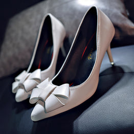 High Heels Sexy Shallow Mouth Pump Shoes