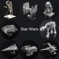 Star Wars 3D Metal Puzzles DIY R2D2