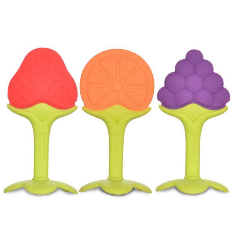 Baby Silicone Fruit Shape Teether