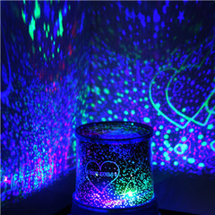 LED masters night light beautiful starry sky projector novelty gifts