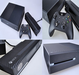 Removable Carbon Fiber Vinyl Skin Sticker Protector for Microsoft Xbox One