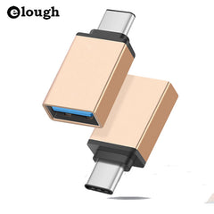 Elough USB Type C USB 3.1 OTG for Xiaomi MI4C Macbook Nexus 5X 6p USB Adaptor
