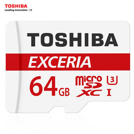 TOSHIBA  Memory Card 128GB 64GB U3 SDXC Max UP 90MB/s