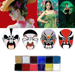 Face Body Oil Painting Art Make Up Party Fancy Makeup Tools