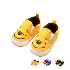 Cartoon Design Shallow Cotton Shoes for Newborn Babies