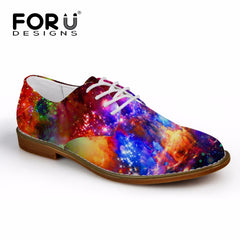 FORUDESIGNS Casual Fashion Synthetic Leather Leisure Shoes for Men
