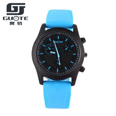 New Fashion Silicone Candy Sports Wristwatch for Men/Watch