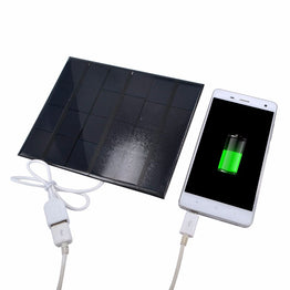 3.5W 6V Polycrystalline Solar Cells Panels Battery Charging for Phone Tablet USB