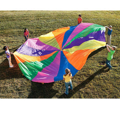 Rainbow Outdoor Play Toy Parachute Suitable For 4-8 people