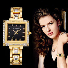 Elegant Designer Bracelet Women Luxury Watch