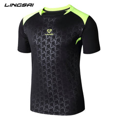 Quick Dry Slim Fit O-Neck Short Sleeve T Shirt for Men