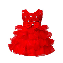 Wedding/ Party Princess Tutu dress with bowknot for baby girls