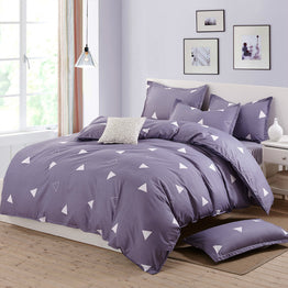 Summer Nordic style duvet cover Twin/Full/Queen size 4pcs bedding set