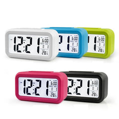 Digital LED Snooze Electronic Alarm Clock Backlight
