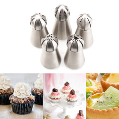 Russian Tulip Nozzle For Cake / Cupcake Decoration