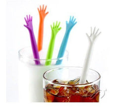 Creative gift help me coffee muddler stirring bar rabble rod 1bag=20pcs