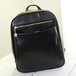 High Quality Soft Handle Leather Backpack for Women