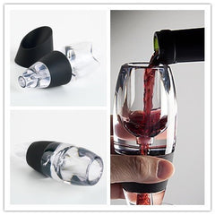 Wine Aerator Filter, Magic Decanter Essential Wine Quick Aerator,Hopper Filter Set