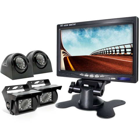 Wired Backup Camera and Monitor Kit For RV ER0202