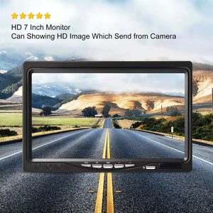 7 inch large HD screen