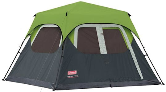 Fastpitch Instant Cabin 6 Man Green incl Rainfly