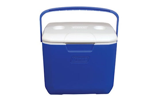 Coleman 30QT Cooler Blue