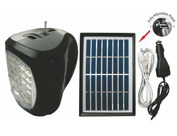 UltraTec Lil' Bud Emergency Light Kit with Solar Panel