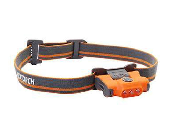 NexTorch 2XAAA, 30 Lumen Eco-Star Head Lamp Orange